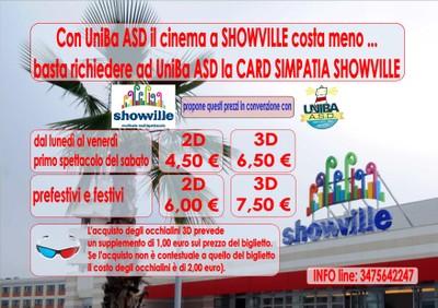 Multisal Showville Bari