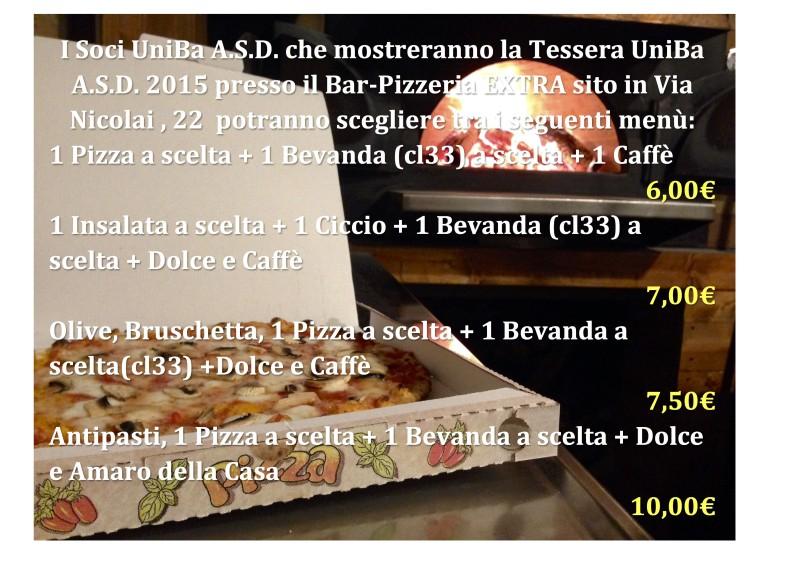 Bar Pizzeria Extra Bari Via Nicolai
