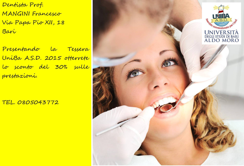 Dentista dott. Mangini Francesco
