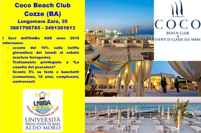Coco Beach Club Cozze (BA)