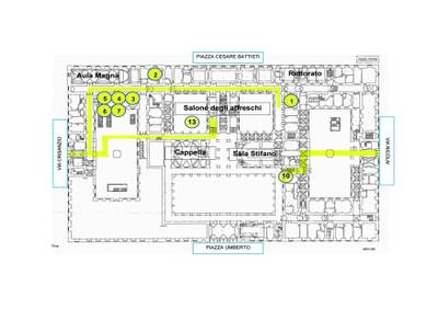 Piano terra ubicazione uffici